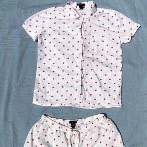 J.Crew pajama set